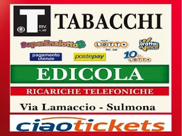 EDICOLA-RICEVITORIA-TABACCHERIA
