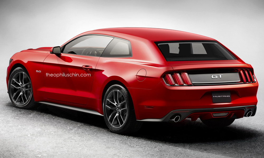 Ford Mustang Concept 2017 >> Any Interest In A 2017 Ford Mustang Shooting Hatch Carscoops