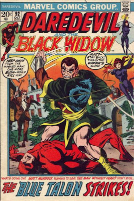 Daredevil #92, the Blue Talon