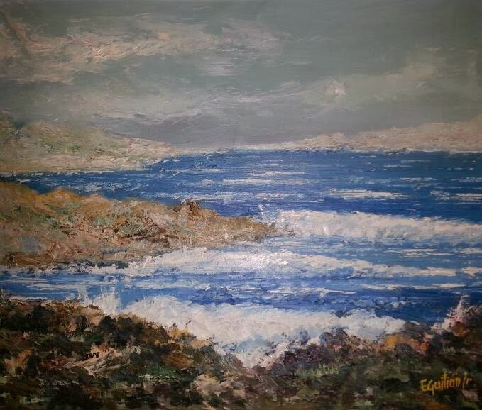 Emilio guitian y sus cuadros entrada 44 aqu est n algunos cuadros de la casa de mi t a cuca - Cuadros tenerife ...