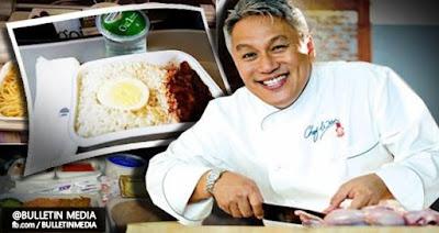 Chef Wan dedah perbualan 'Mengejutkan' dengan bekas CEO MAS