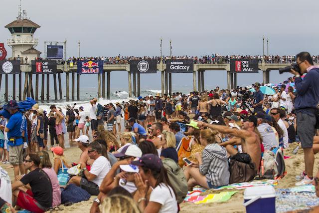 7 Vans US Open of Surfing Vans US Open of Surfing Foto WSL Sean Rowland