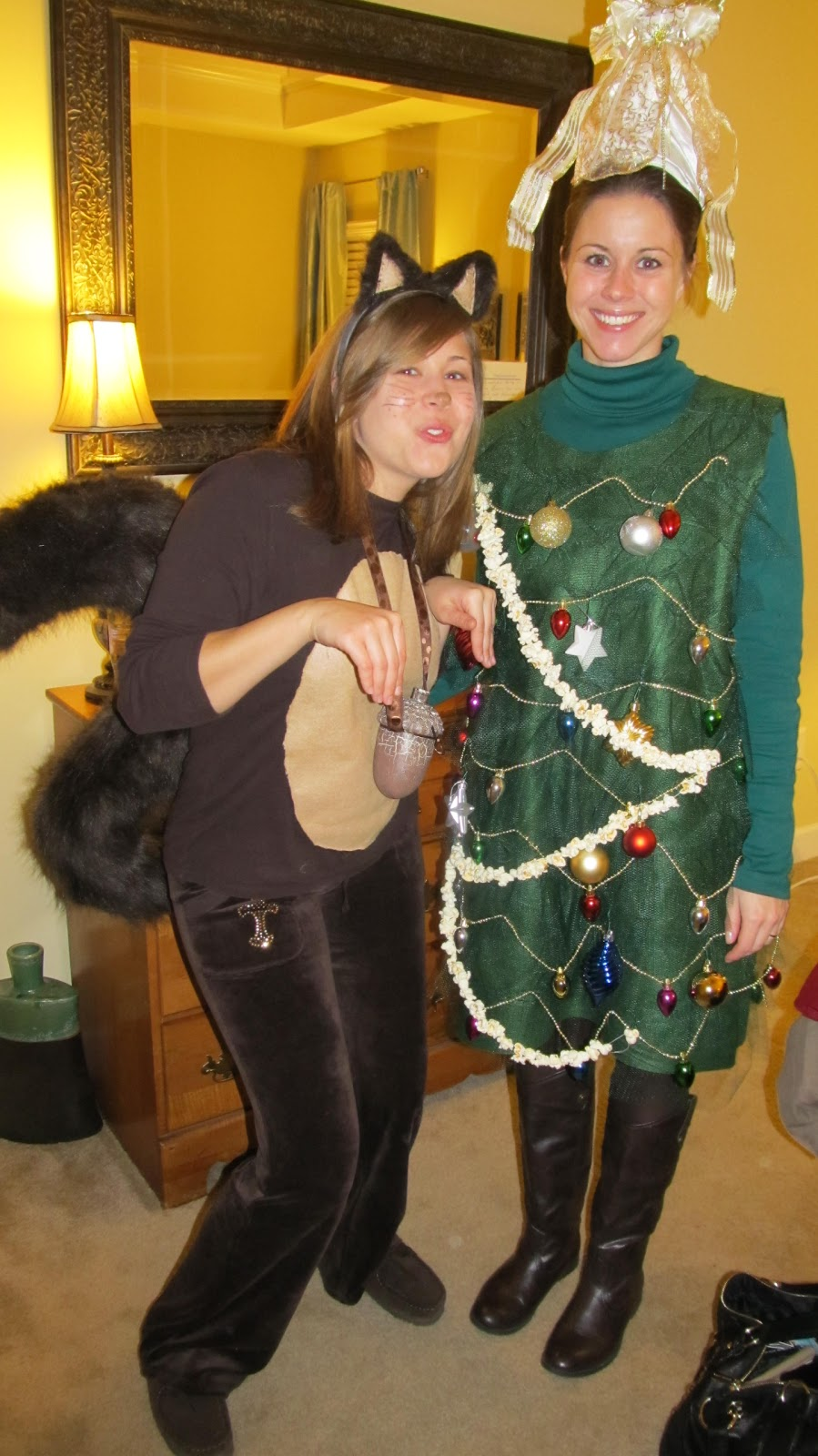 Griswold Christmas Party Ideas Part - 36: The Squirrel And The Tree--costume Contest Winners