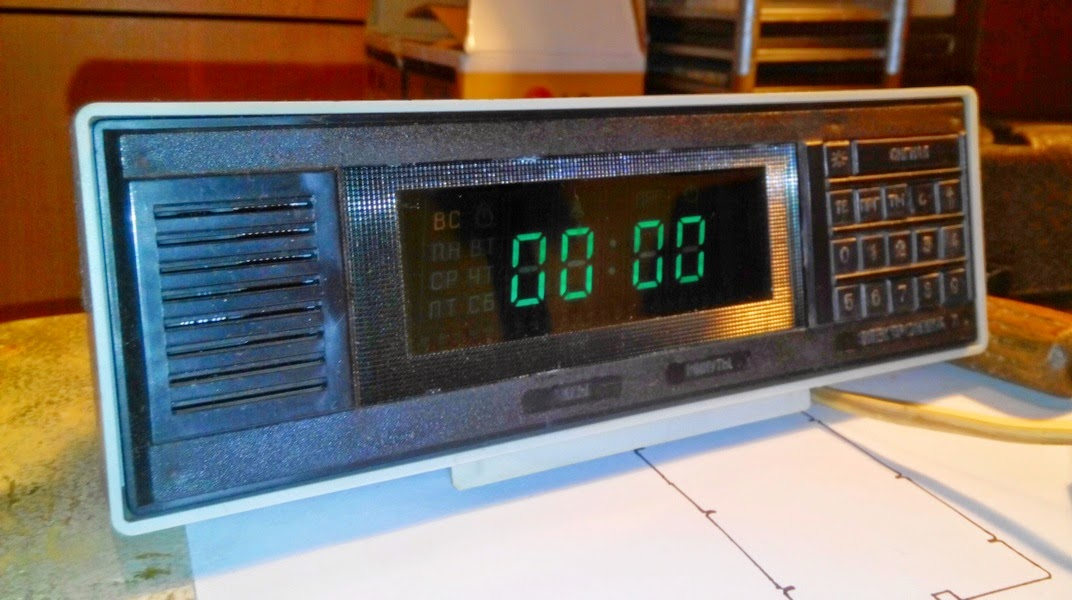 Инструкция к часам электроника 7
