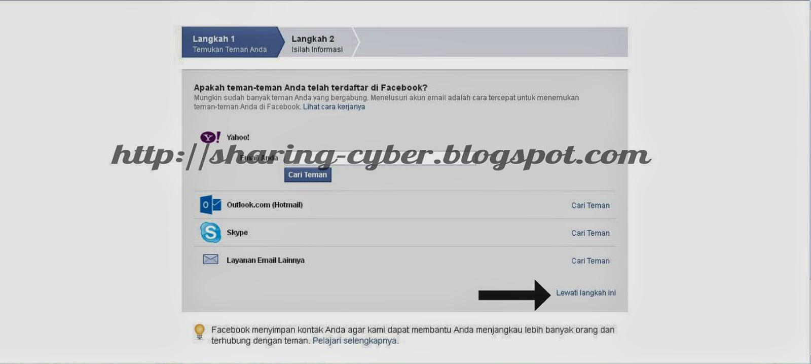 Cara Mendaftar Facebook Terbaru