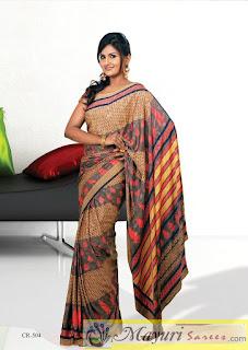 Uniform Saree