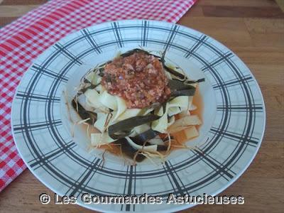 Comment faire une bolognaise végétarienne ?