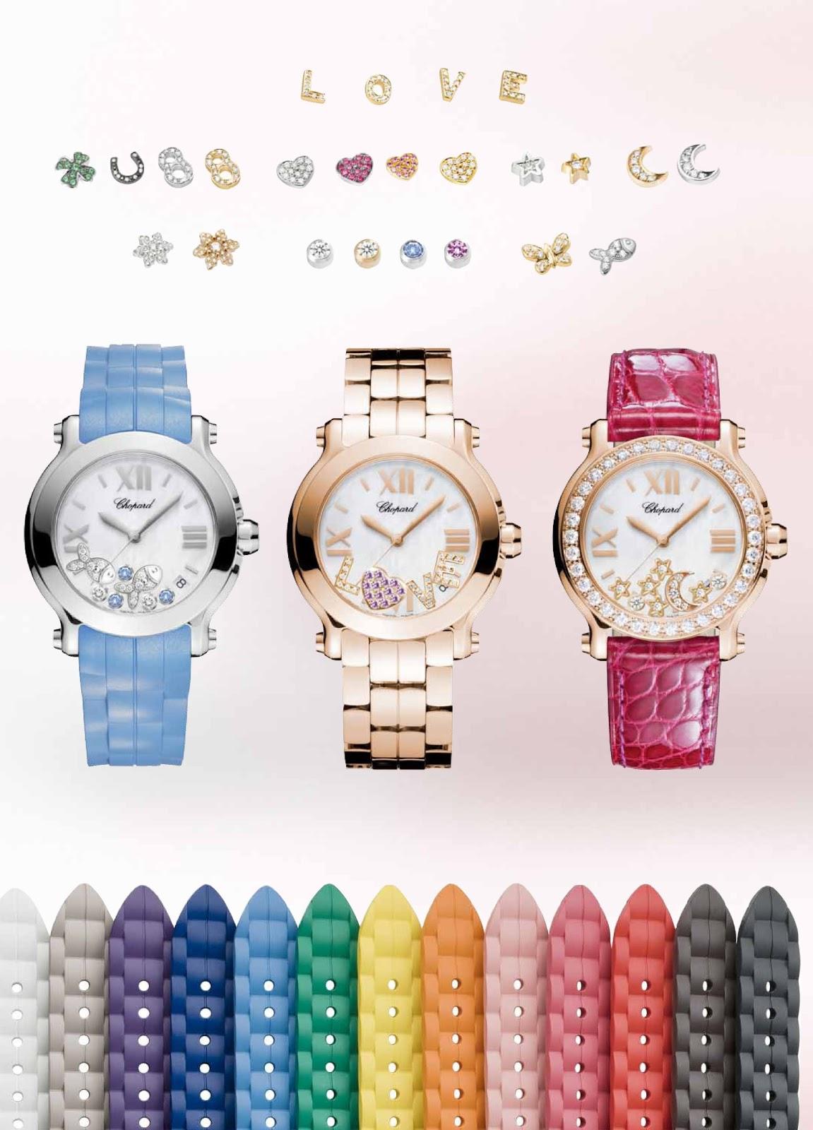 Chopard celebra el 20 aniversario de su reloj Happy Sport