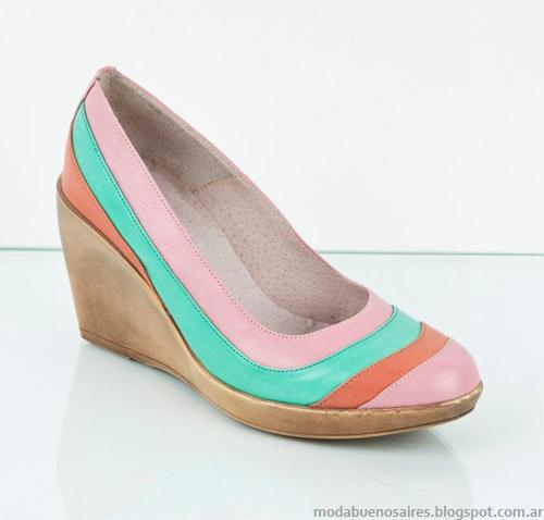 Ferraro zapatos 2013. Moda verano 2013.