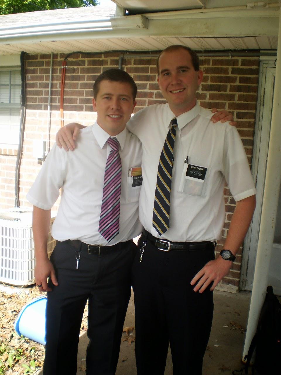 Elder Palmer & Me 02 June 2014