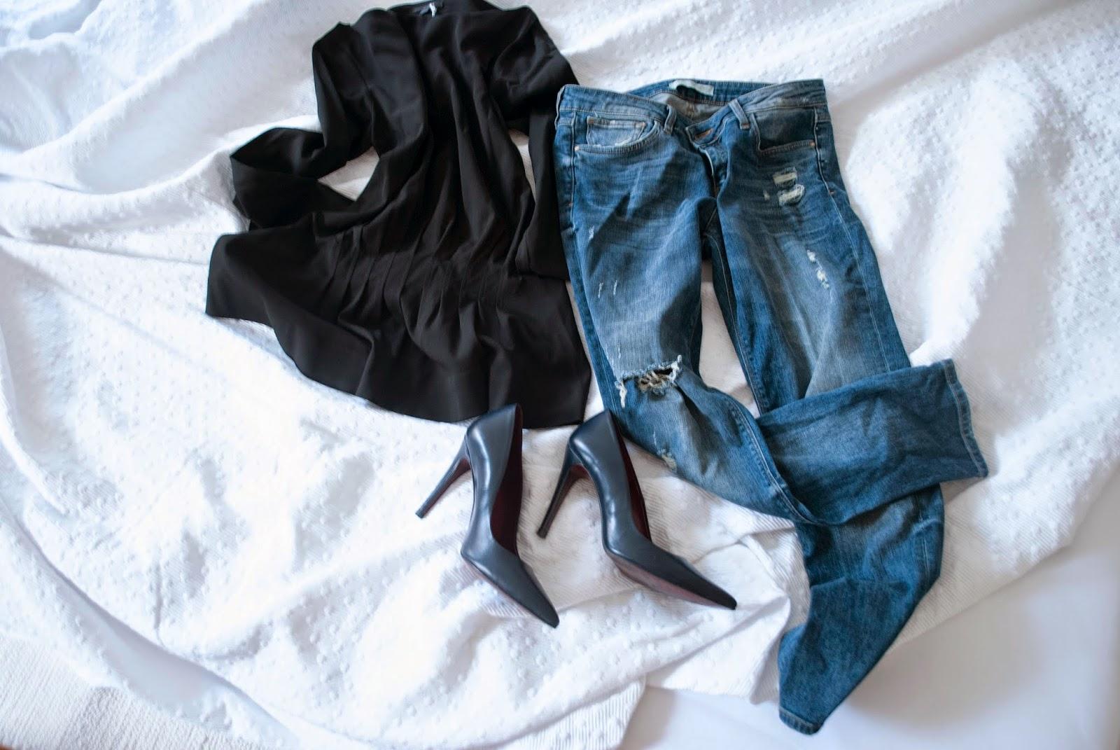 New In Fashion Juli Shopping Haul Zara COS Pumps Boyfriend Schwarz Jeans