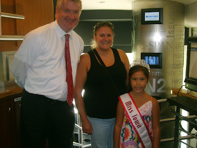 Tanae Thiravong, Miss Iowa princess, National American Miss,  National American Miss winners,  a scam?, NAM, Breanne Maples,  helping hands, Hear of Iowa, ASAC, CSPAN, Senator Grassley