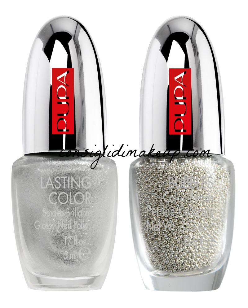 nuovi kit nail art mania pupa metallic bubbles