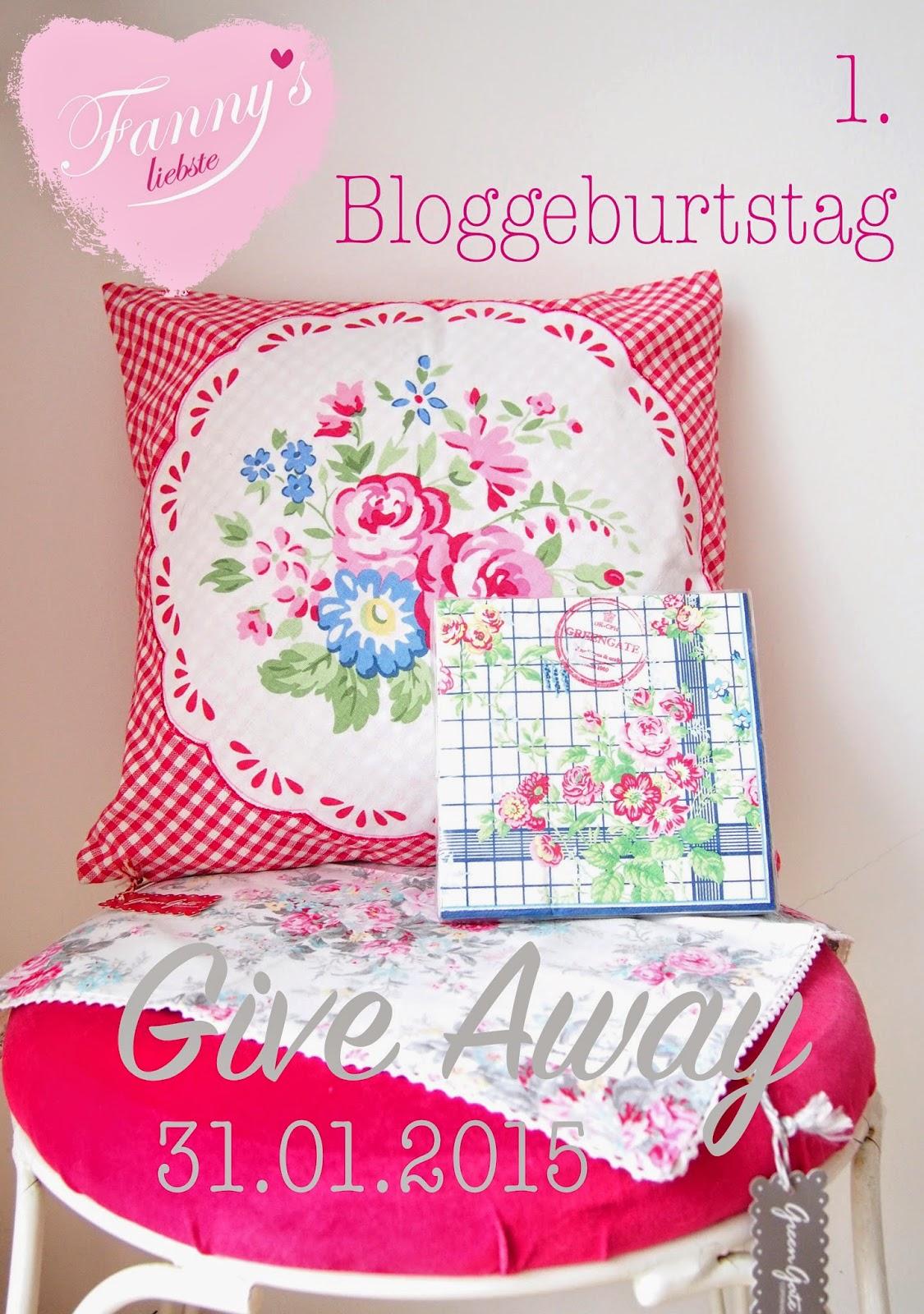 1. Bloggeburtstag