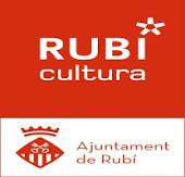 Logotipo de Rubí cultura