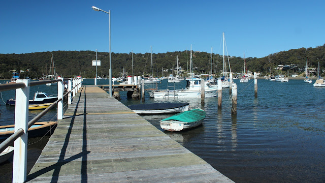Wharf at Hardys bay