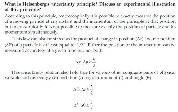 Vedupro: Heisenberg Uncertainty Principle, the Uncertainty ...