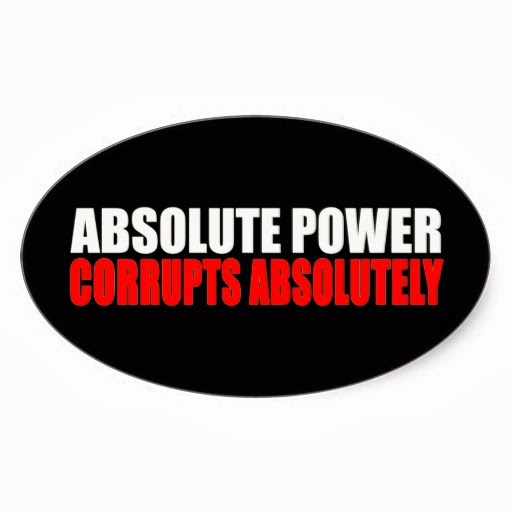 why absolute power leads to absolute corruption