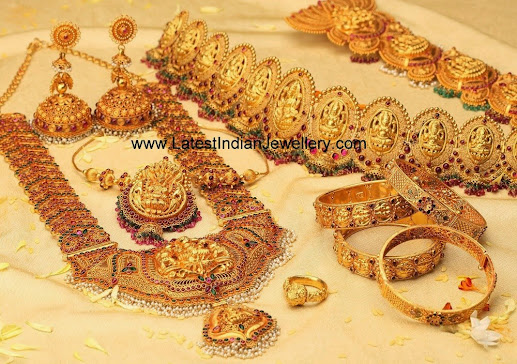 Exquisite Temple Jewellery Collection