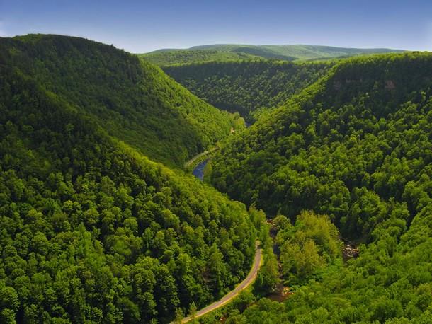 Pennsylvania Pine Creek Gorge, Tioga County