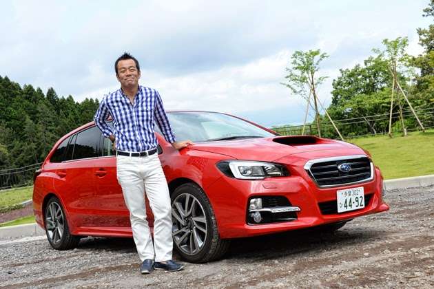 Subaru Le Vogue public road test drive report / estuary Manabu