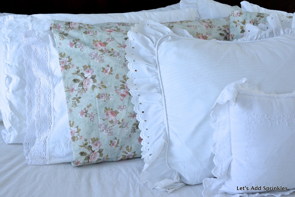 Target Shabby Chic Pillow Cases : Let s Add Sprinkles: Shabby Coverlet Revealed