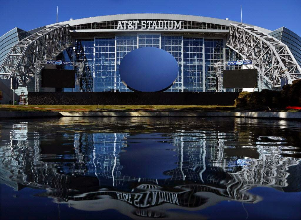 AT&T Stadium Sky Mirror Dallas Cowboys