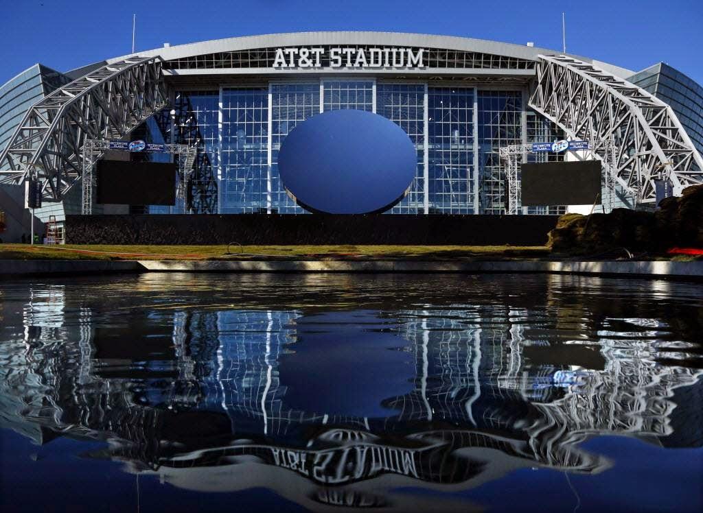 AT&T Stadium Sky Mirror Dallas Cowboys