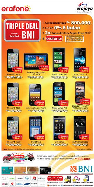 4S, Galaxy Tab Young, Dell Streak Venue, Lumia 800 710 BB Torch dan ...