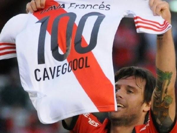 Cavenghi, Fernando Cavenaghi, gol 100, gol 101, Torneo Transición, Banfield, River, River Plate, 2014,