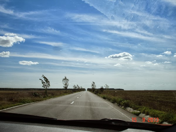Avangarda celesta: Nori de toamna...
