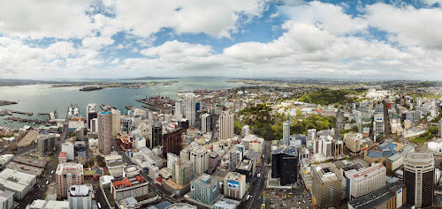 View from Sky Tower - Auckland