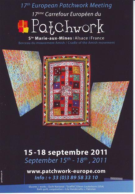 Chez isis tienda y taller de patchwork 17 carrefour europ en du patchwork - Salon du patchwork sainte marie aux mines ...