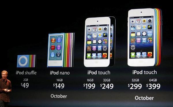 keynote d 39 apple iphone 5 ipod touch 5g et nouvel ipod nano info magazine. Black Bedroom Furniture Sets. Home Design Ideas