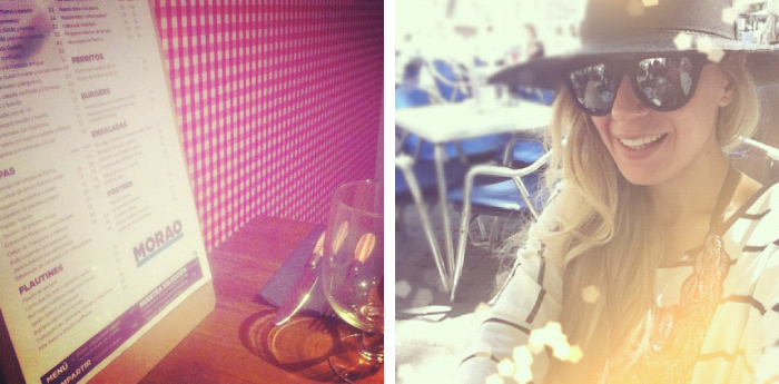 Lunch, my showroom, priscila betancort, Stripes, restaurants, fashion blogger