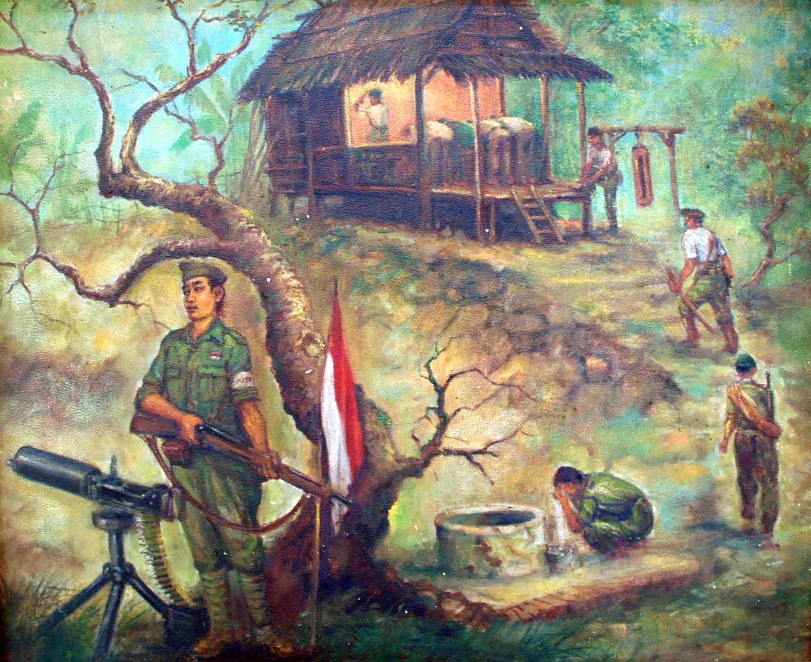 Saiin |西院: Lukisan Sejarah Perjuangan Indonesia