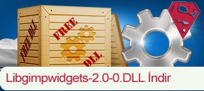 Libgimpwidgets-2.0-0.dll Hatası çözümü.