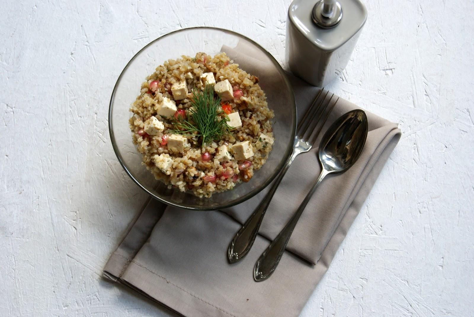 Kuchnia Bon Appetit Sałatka Z Kaszą Bulgur