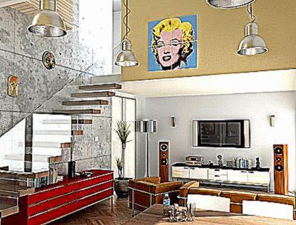 Foto Design Ruang Keluarga Rumah Minimalis Bentuk Desain Ruang