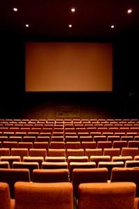 Interior de un cine