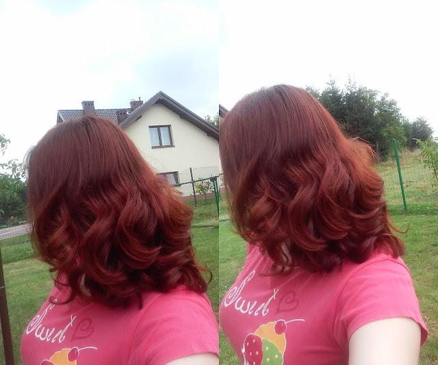 Włosy w sierpniu 2015r.