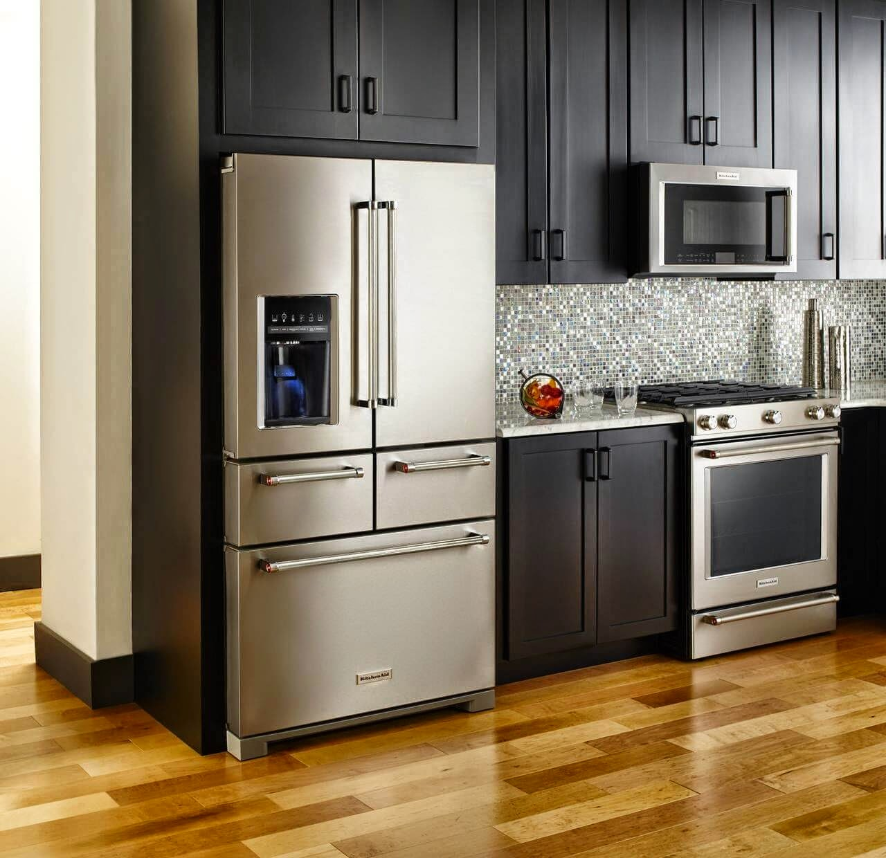 Incroyable ALL NEW 2015 5 Door KitchenAid Refrigerator