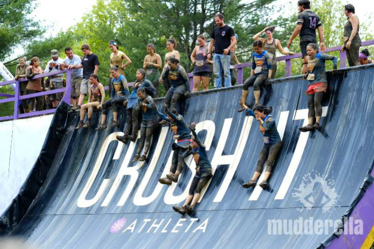 Mudderella 6 mile obstacle course event.