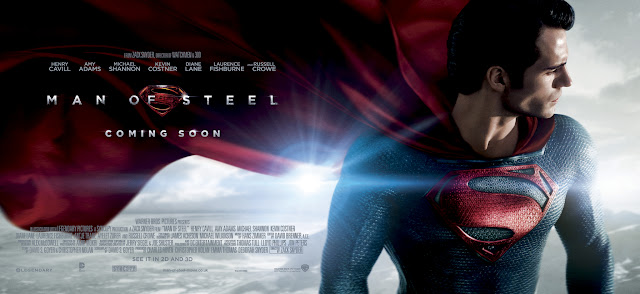 Man Of Steel Cape Banner Poster