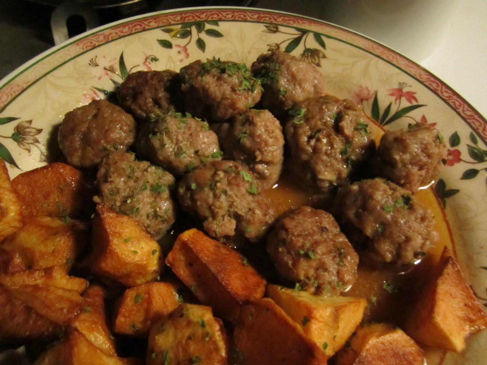 La dieta mediterr nea de nuestra familia albondigas - Albondigas de patata ...
