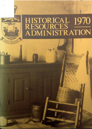 Second Annual Report of the Historical Resources Administration