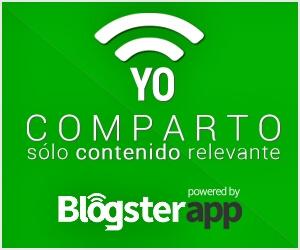 Insignia Oficial de BlogsterApp. Yo solo comparto contenido relevante