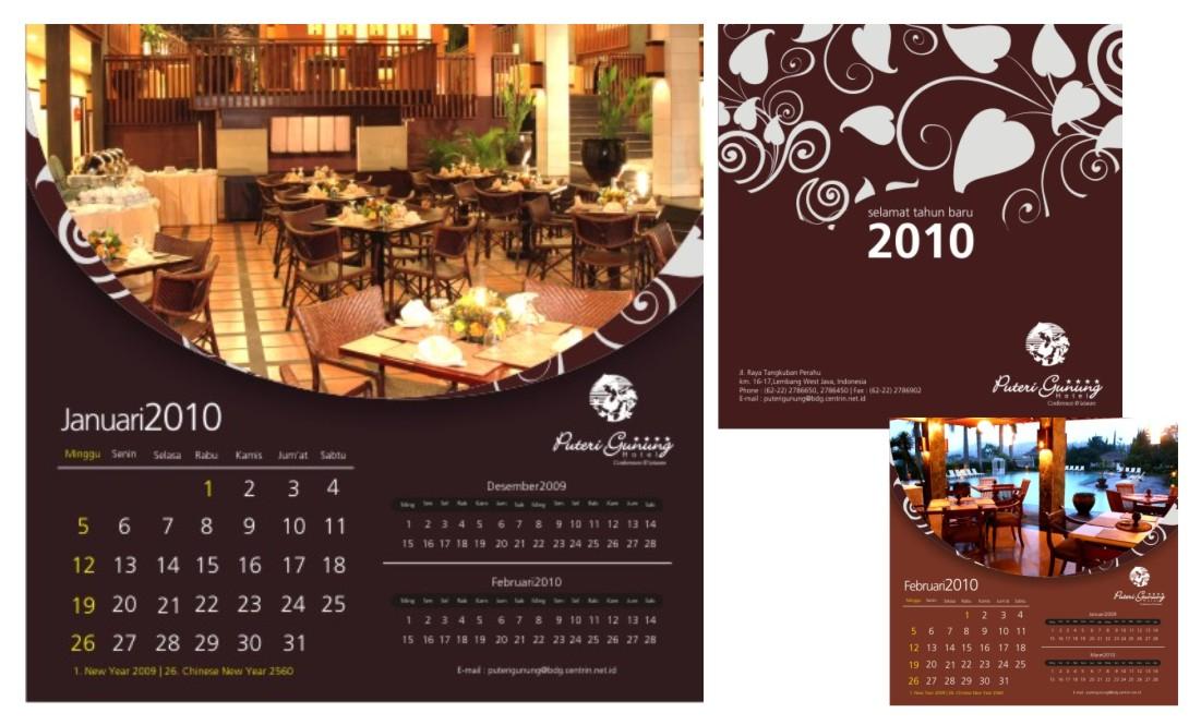 Hotel Calendar Design : Creasiondesign august