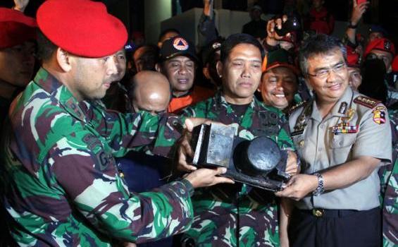 Foto - foto Black Box Sukhoi Superjet 100 Gunung Salak2