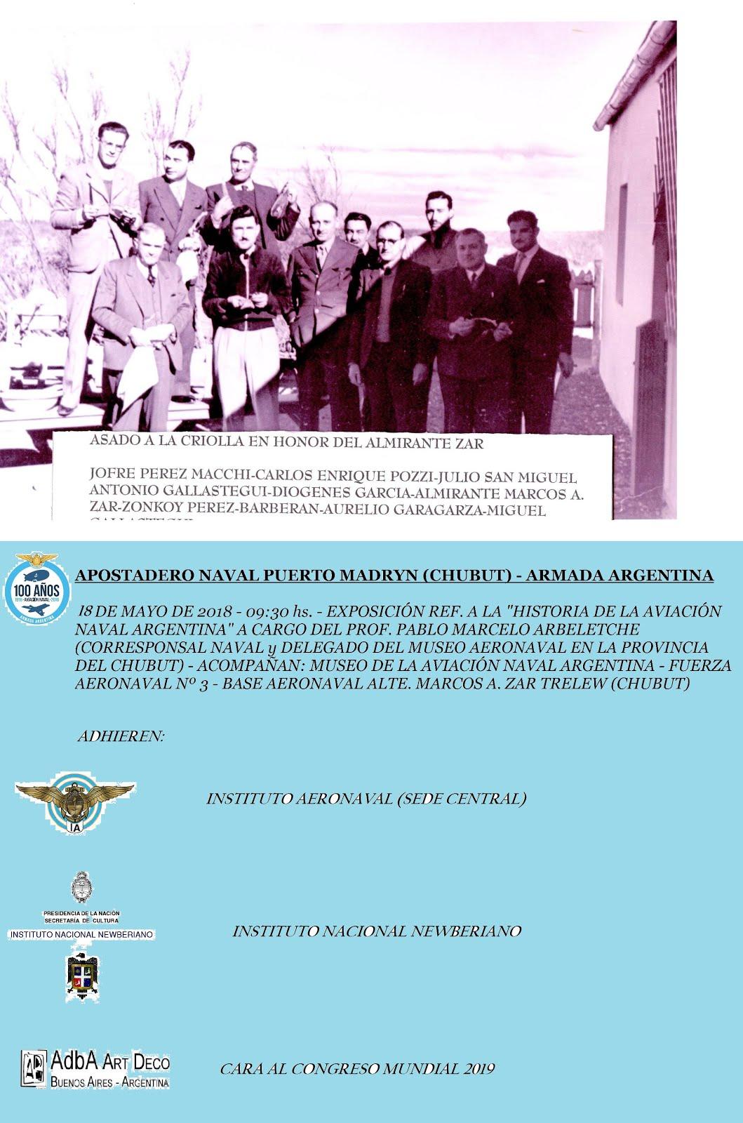 Exposición Apostadero Naval Puerto Madryn